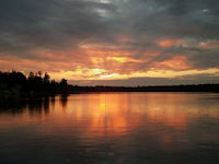 Clear Lake Sunset 1