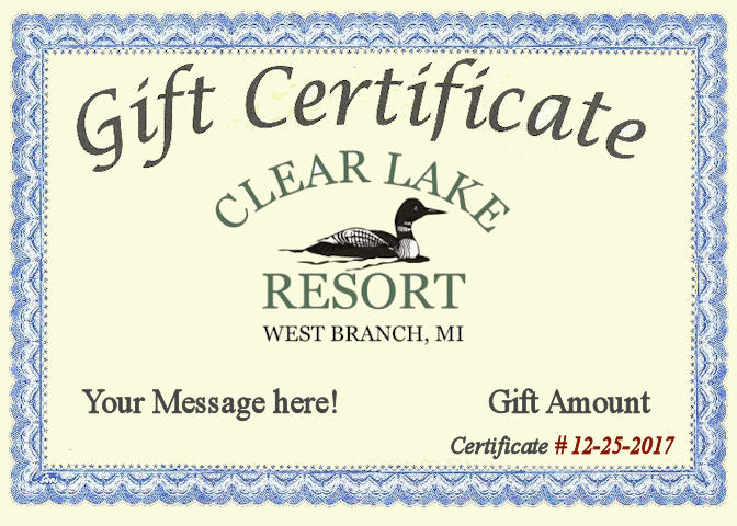 Gift Certificate 12252017