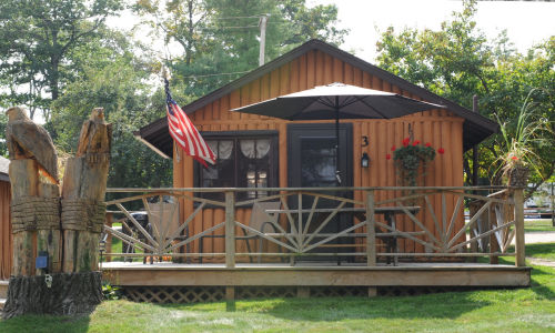 Lake Front Cabin Three