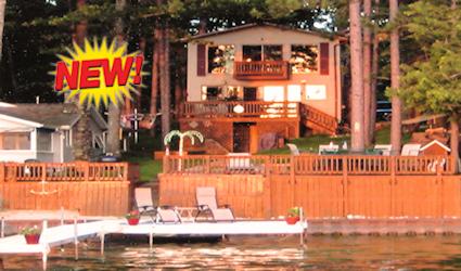 Michigan Lake Front Rental Cabin Two