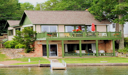Cabin Ten - Lake front Home 425