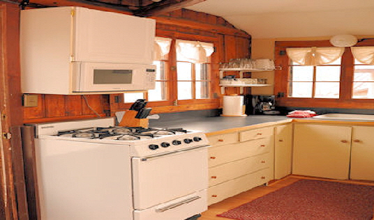 Cabin Twio Fully Equiped Kitchen with Range