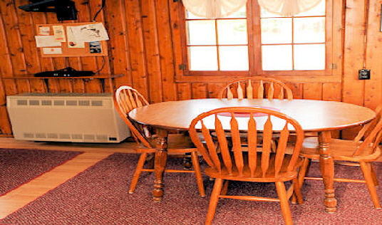 Cabin Two Dining Table with Four Chairs