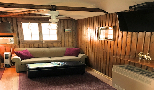 Lake Front Cabin Three Living Area with Full Size Sofa Bed