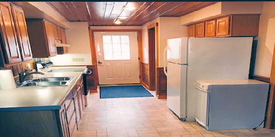 Lake Home Cabin 12 B - Nice Size Kitchen