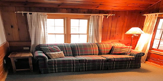 Lake Home Cabin 12 B Living Room